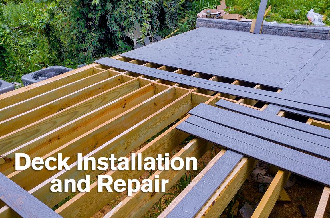 decks installation repair